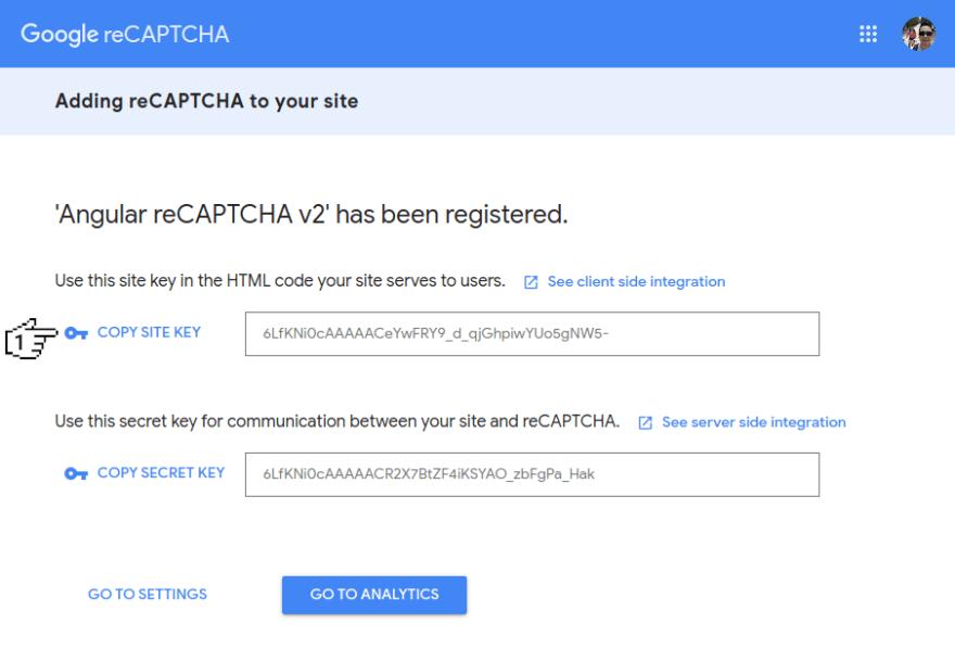 Google reCAPTCHA - Adding reCAPTCHA to your site