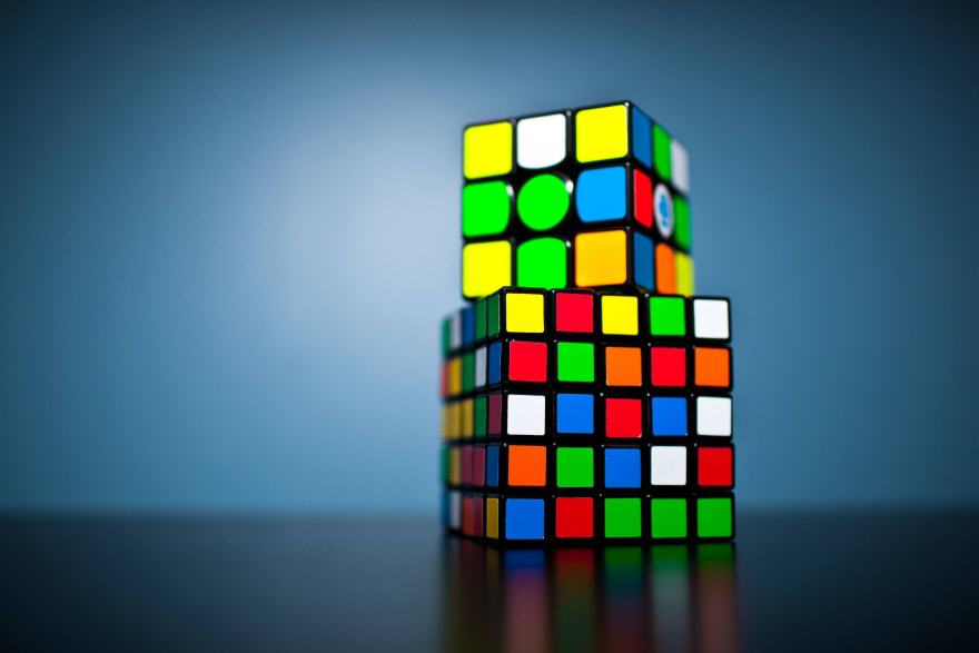 Two different Rubiks Cubes