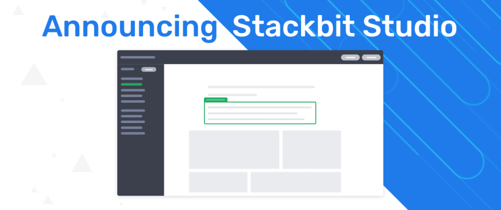 Cover image for Stackbit Studio - The first complete platform for the Jamstack