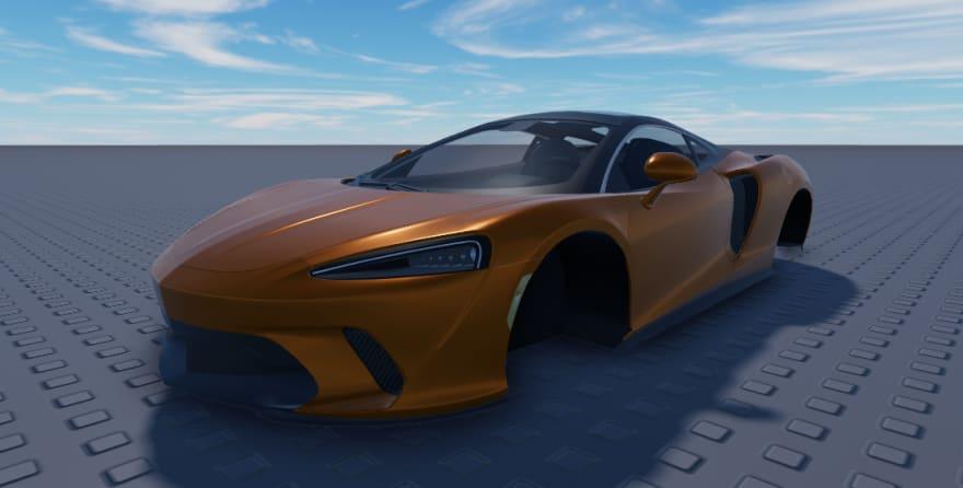 Hyper Realistic Car