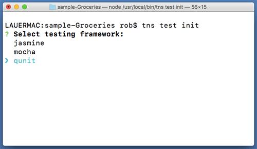 pick a unit testing framework
