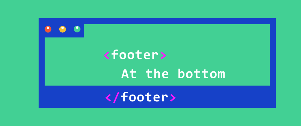 Cover image for Keep the footer at the bottom
