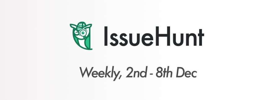 Weekly Trending Repositories on GitHub (Dec 02 ~ Dec 08) - DEV