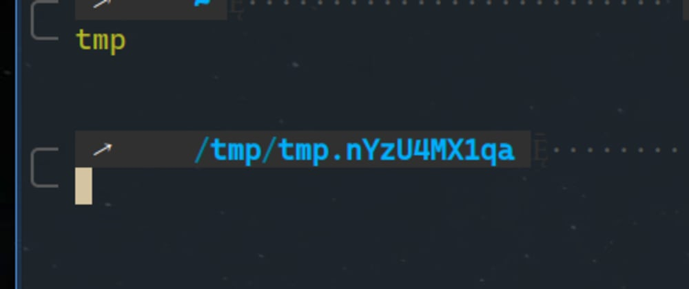 Cover image for Tip 3: Create a `tmp` Alias