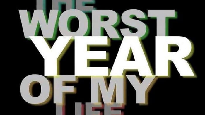 """image escrito """"pior ano da minha vida"""""""