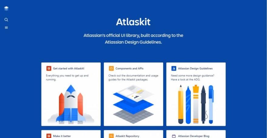 Atlaskit - Atlassian official UI Library