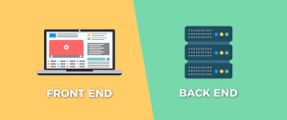 Cover image for ¿Qué es Back-End y Front-End?