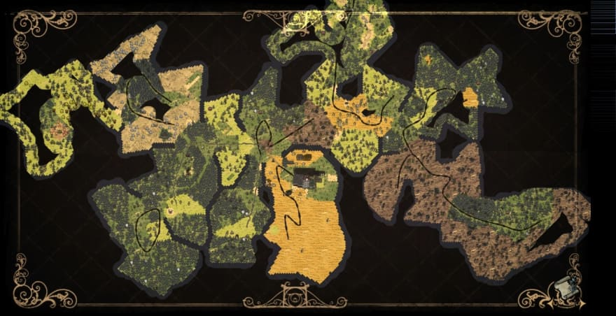 Don't Starve map