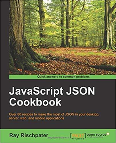 JavaScript JSON Cookbook Paperback