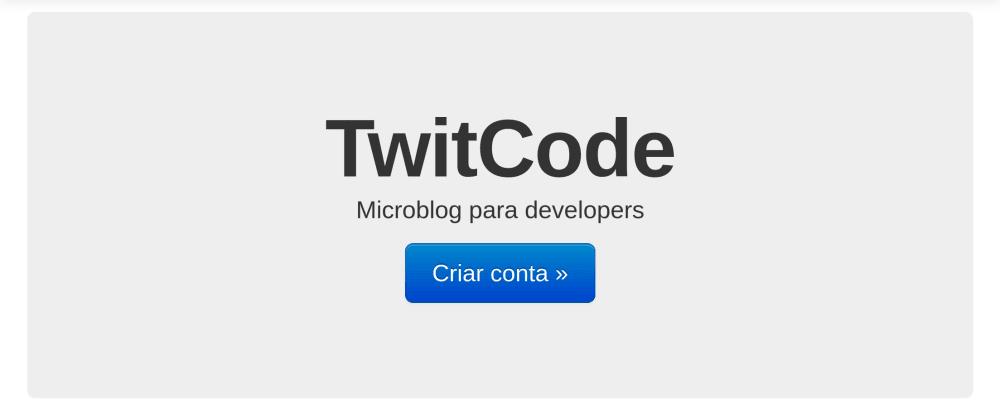 Cover image for TwitCode - Um microblog para desenvolvedores