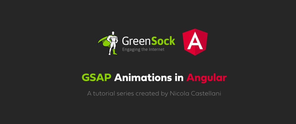 Cover image for GSAP Animations in Angular - Getting Started
