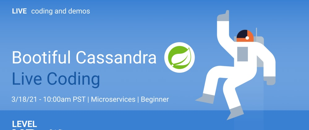 Cover image for Bootiful Cassandra Live Coding