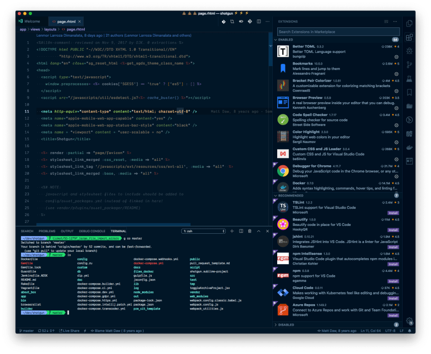 My VS Code Setup