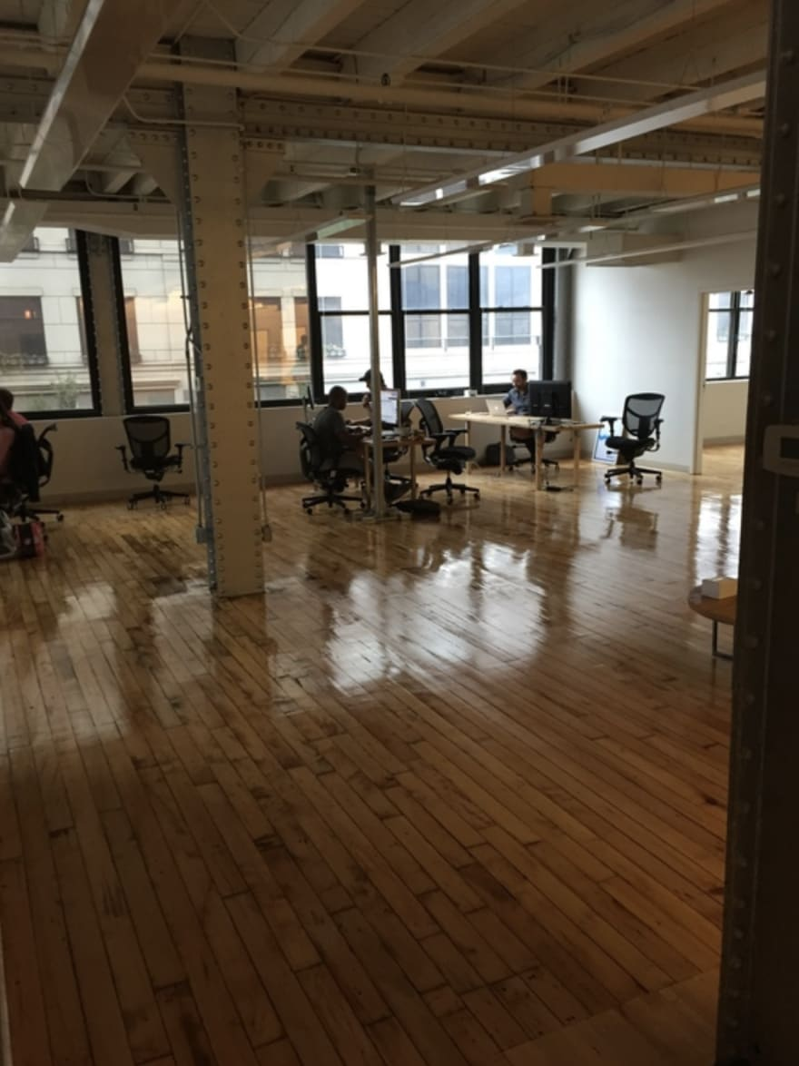 Kenna's second river north office