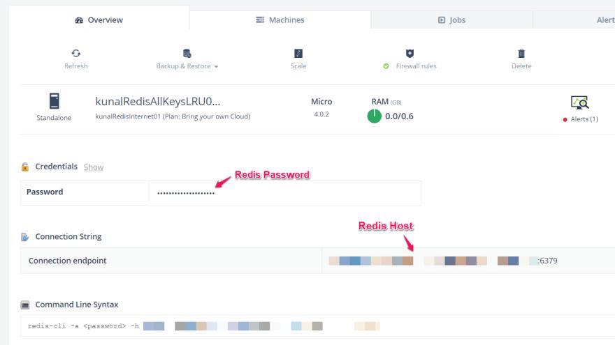 ScaleGrid Redis Hosting - Add WordPress Configurations