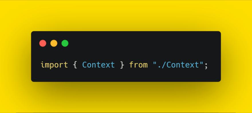 import context