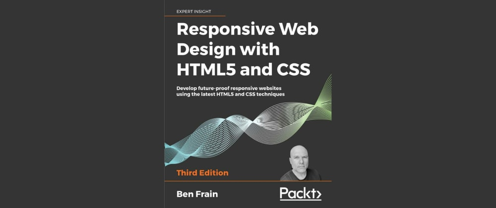 "Cover image for Book Review: ""Responsive Web Design with HTML5 and CSS"" by Ben Frain"