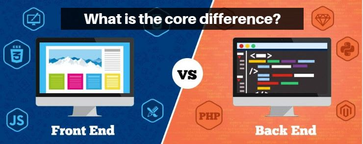 Front-End vs Back-End Development: What is the core