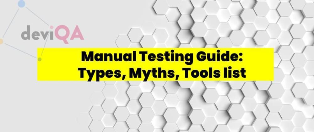 Cover image for Manual Testing Guide
