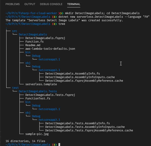 Set-up of Detect Image Labels solution