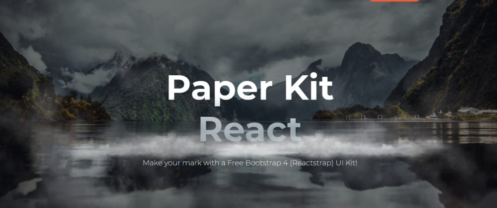 Cover Image for React Templates - A curated list with FREE projects