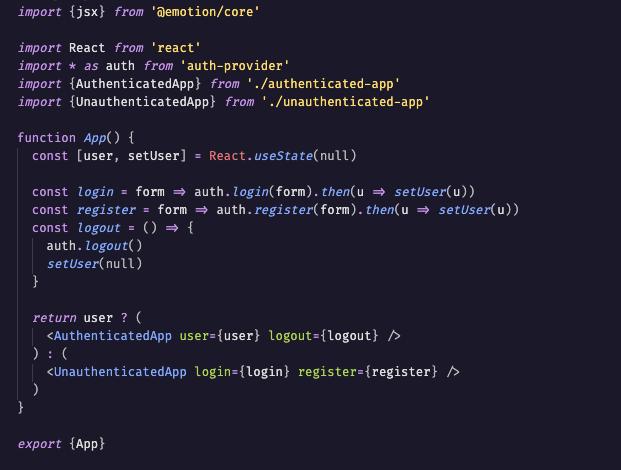 Lupine syntax highlighting