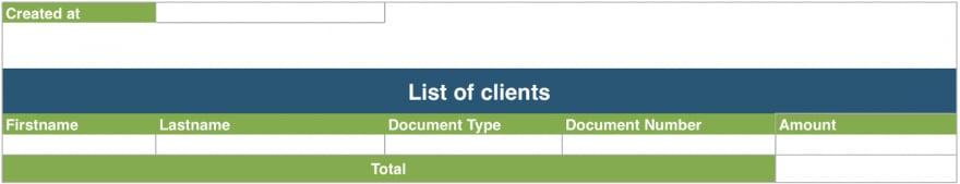 Empty document