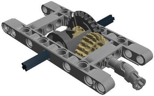 Lego differential gear, source: Amazon.com