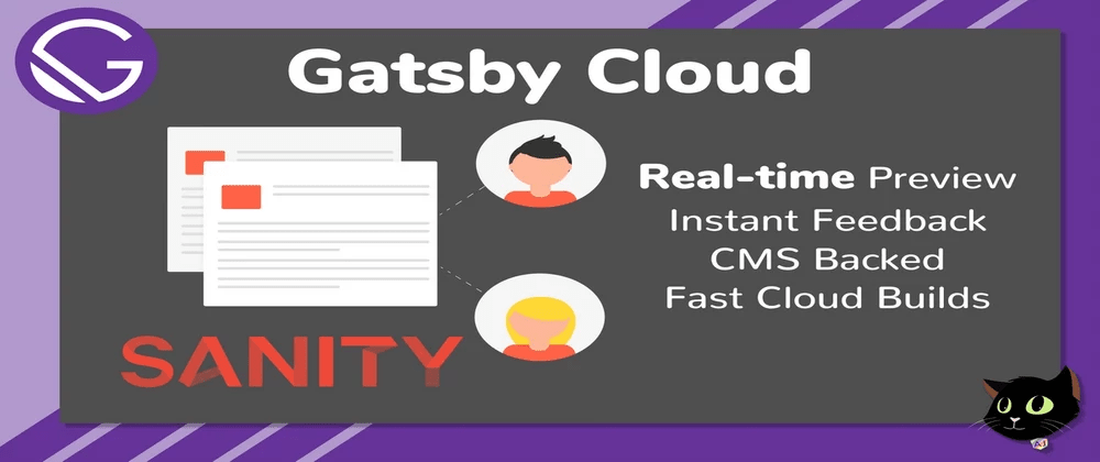 Cover image for Gatsby Cloud with Sanity CMS