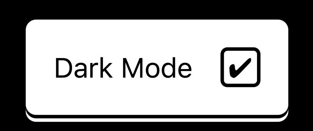 Cover image for An HTML and CSS only dark‑mode toggle button.