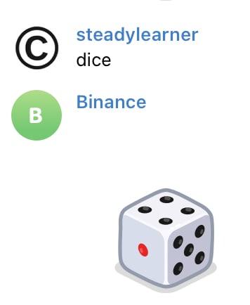 Teloxide dice example