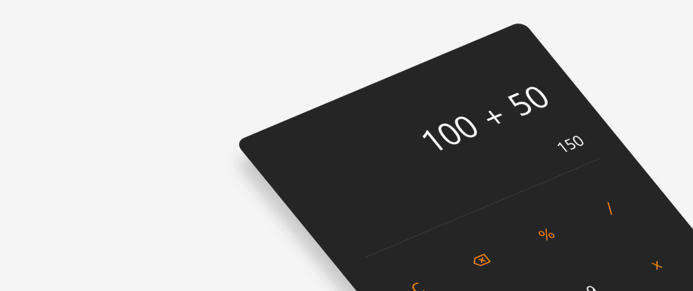 Cover image for Create a Simple calculator using vanilla JavaScript (Step-by-Step)
