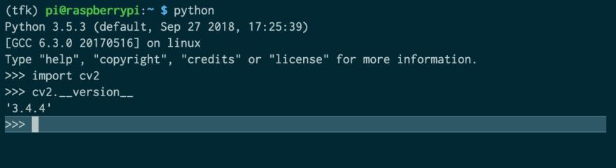 OpenCV on Raspberry Pi