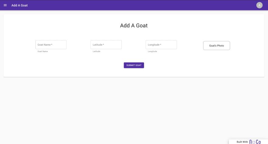 add a goat