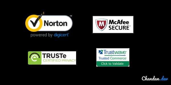 security trust badges