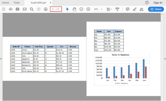 Converting Excel To Pdf In Java Application Dev