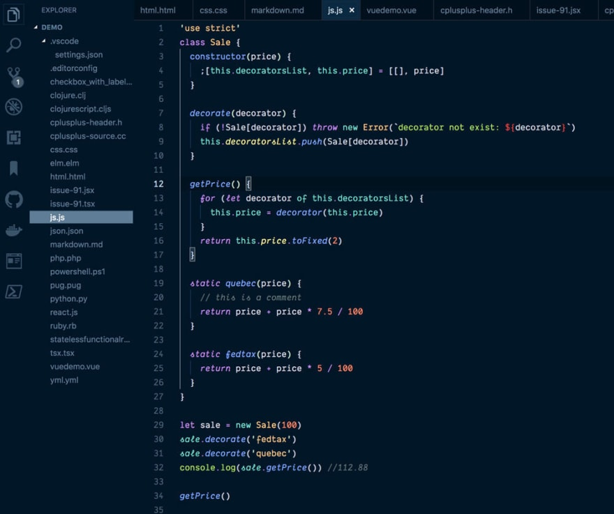 Night Owl for VS Code