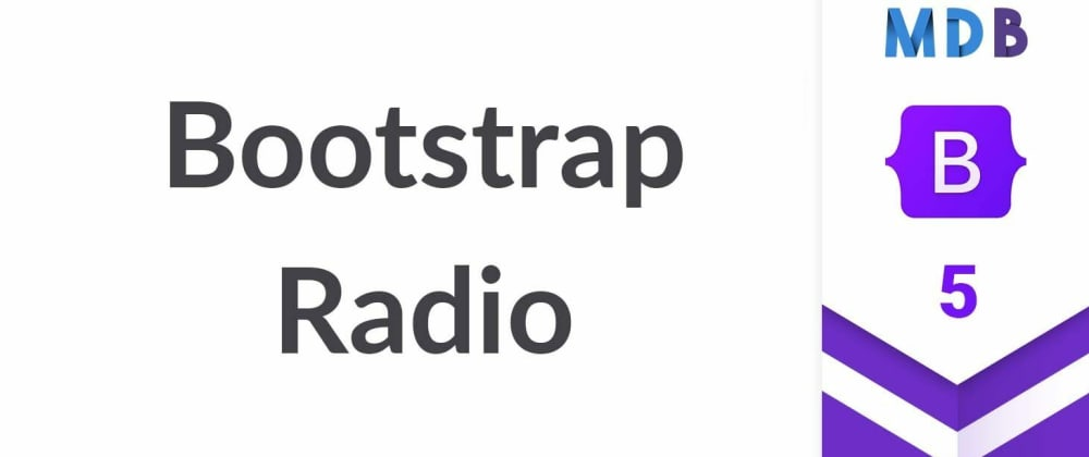 Cover image for Bootstrap 5 Radio