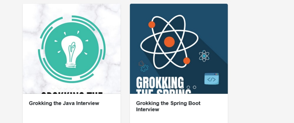 Cover image for My Books on Java and Spring Boot Interviews