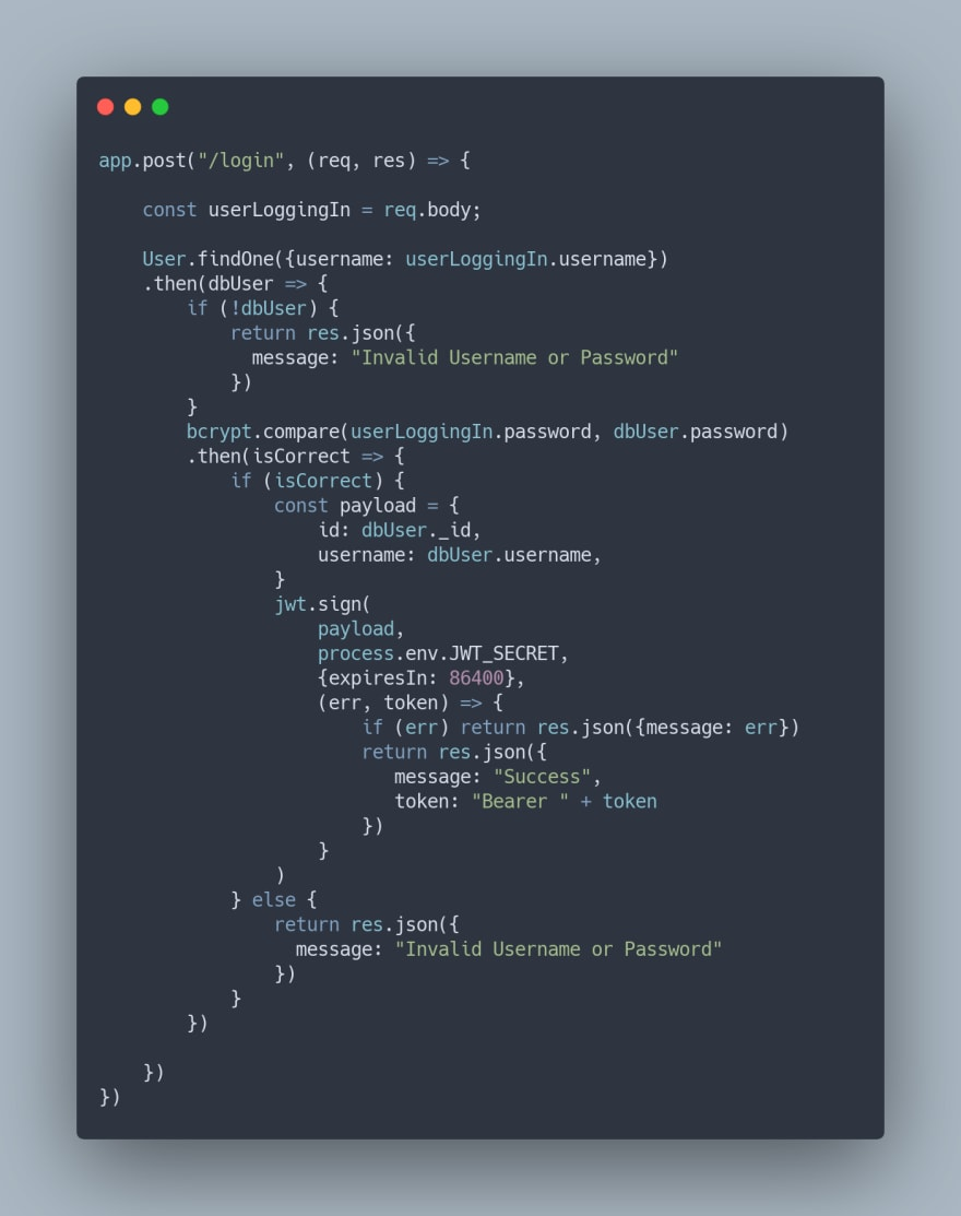 Carbon.now.sh Code Snippet