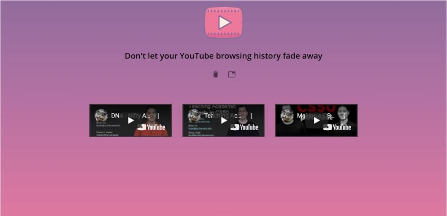 Youtube Resume Screenshot 2