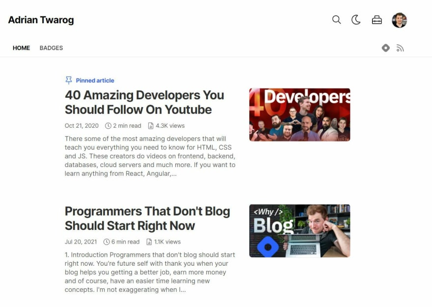 Coding and blogging