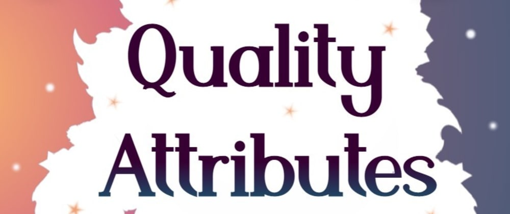Cover image for Quality Attributes