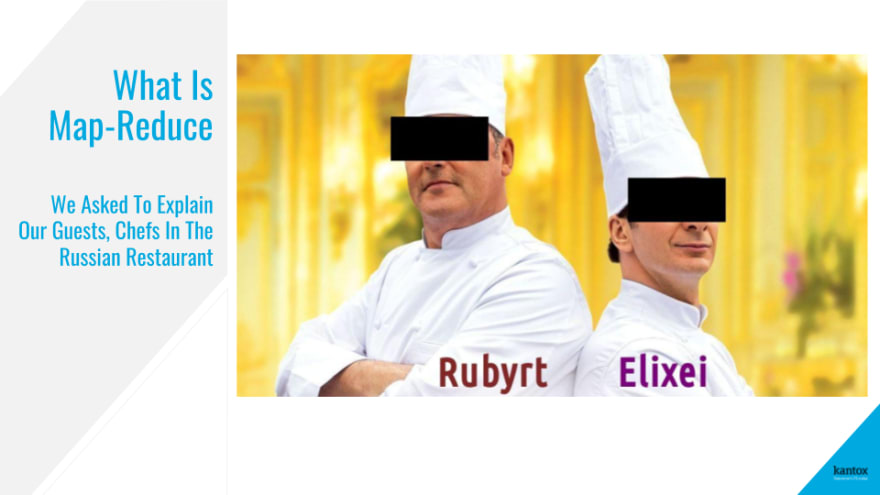We asked to explain our guests—chefs in the restaurant—Rubyrt and Elixei