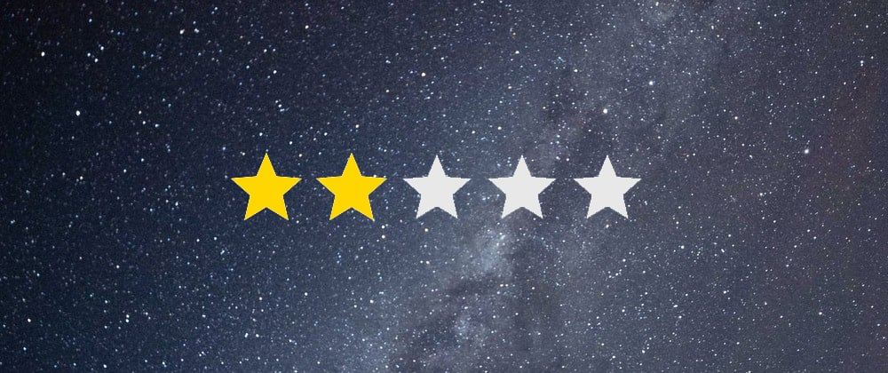 Cover Image for Star-Rating Using A Single Input