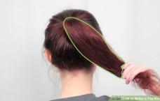 Cách để búi tóc cao