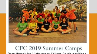 [Toàn Quốc] Chương trình tình nguyện viên quốc tế Coach For College (CFC)
