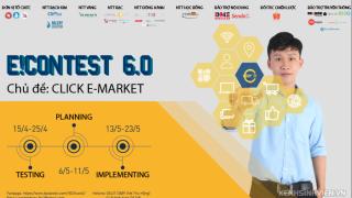 """E!CONTEST 6.0 CHÍNH THỨC QUAY TRỞ LẠI - CÙNG BẠN """"ĐĂNG XUẤT MỌI GIỚI HẠN"""""""