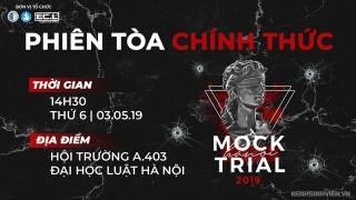 HANOI MOCK TRIAL 2019: Phiên toà chính thức