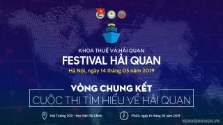 [HN] Chung Kết Cuộc Thi Tìm Hiểu Về Hải Quan - Festival Hải Quan 2019